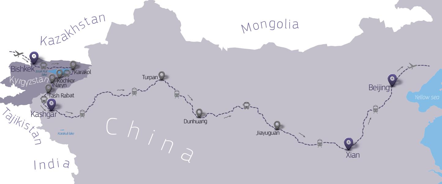 jiayuguan chine canyon