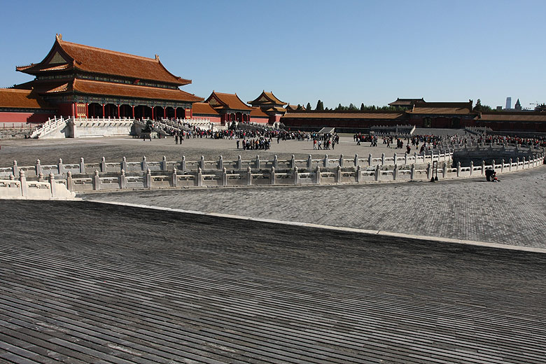 Beijing. Forbidden city. Gate of Supreme Harmony