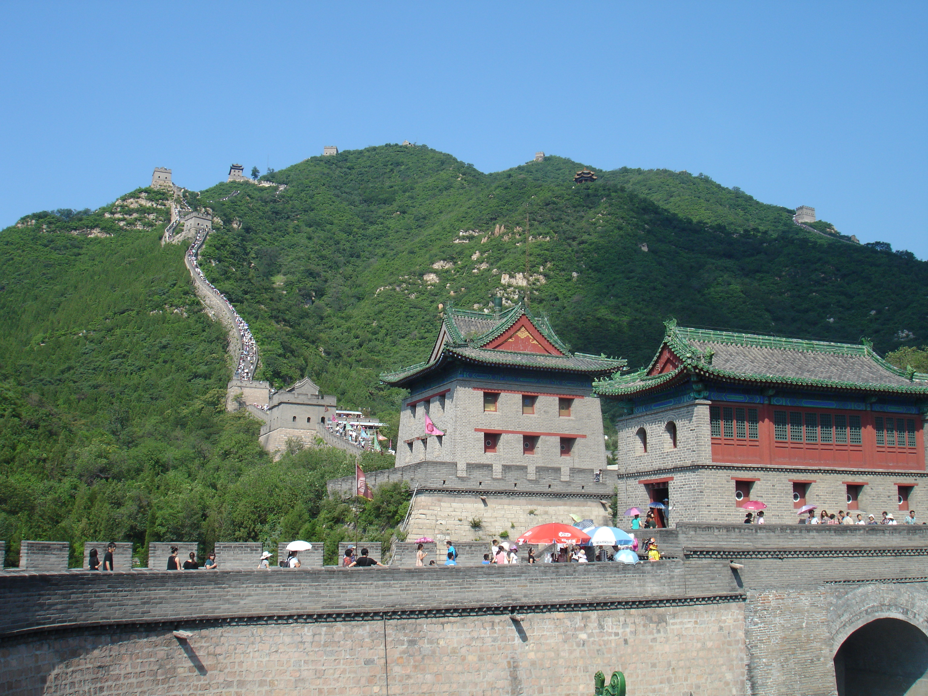 Beijing. Great wall. Jiuyongguan section