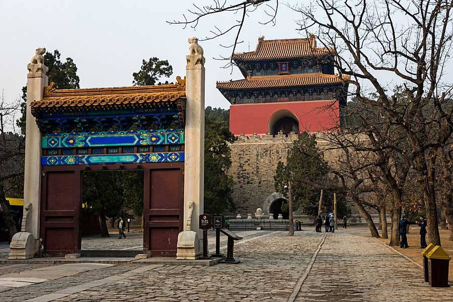 Beijing. Ming Tombs. Entrance